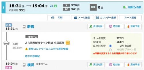 東京に住むメリット4.電車でどこでも行ける
